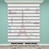 () Eyfel Kulesi Baskılı Zebra Perde - PM 004