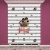 () Maşa ile Koca Ayı Baskılı Çocuk Odası Zebra Perde - PM 016