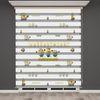 () Minyonlar Baskılı Çocuk Odası Zebra Perde - PM 022