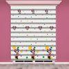 () Mini Mouse Baskılı Çocuk Odası Zebra Perde - PM 023