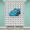 () Mavi Araba Baskılı Erkek Çocuk Odası Zebra Perde - PM 029
