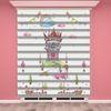 () Dijital Baskılı Kız Çocuk Odası Zebra Perde - PM 033