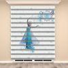 () Frozen Elsa Baskılı Kız Çocuk Odası Zebra Perde - PM 035