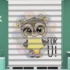 () Dijital Baskılı Bebek Odası Zebra Perde - PM 041