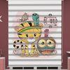 () Kedi Baskılı Bebek Odası Zebra Perde - PM 045