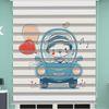 () Oyuncak Ayı Baskılı Bebek Odası Zebra Perde - PM 054
