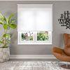 (Beyaz) Simli Beyaz Düz Stor Perde - 2910