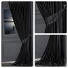 (Siyah) Ayder Fon Perde Siyah AJR-9197-V563