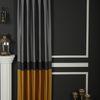 (Sarı) Pamir Blok Desen Fon Perde Sarı 9220-587