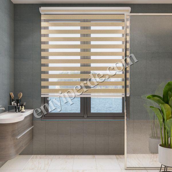 () Bambu Bal Köpüğü Zebra Perde - (7104) Fiyatı, Yorumları - Eniyiperde.com - 1