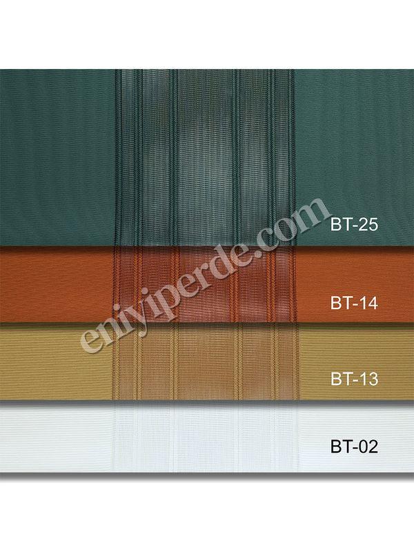 (Yeşil) Çizigili Akıllı Dikey Tül Zebra Perde-Çağla-Yeşil-Kremit-Hardal-Ekru Fiyatı, Yorumları - Eniyiperde.com - 7