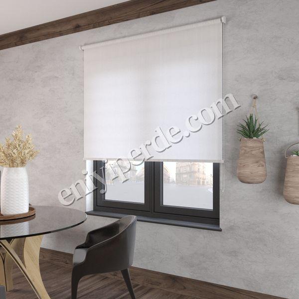 (Beyaz) Beyaz Screen Stor Perde - 2900 Fiyatı, Yorumları - Eniyiperde.com - 2