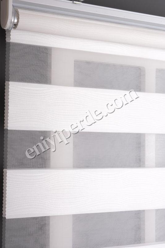 (Beyaz) Ewinas Yeni Sezon Alex  Beyaz Zebra Perde Etek Dilim Hediye alex01 Fiyatı, Yorumları - Eniyiperde.com - 3