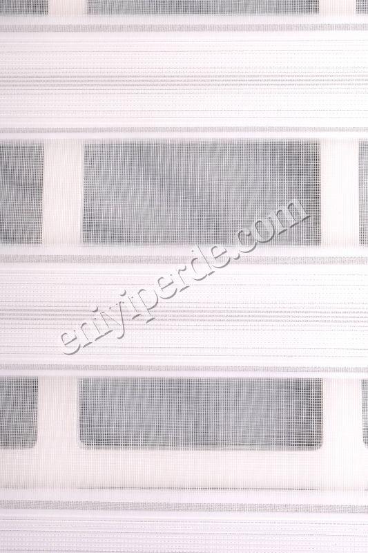 (Beyaz) Ewinas Yeni Sezon Asya Beyaz Gümüş Simli Zebra Perde Etek Dilim Hediye asya01 Fiyatı, Yorumları - Eniyiperde.com - 5