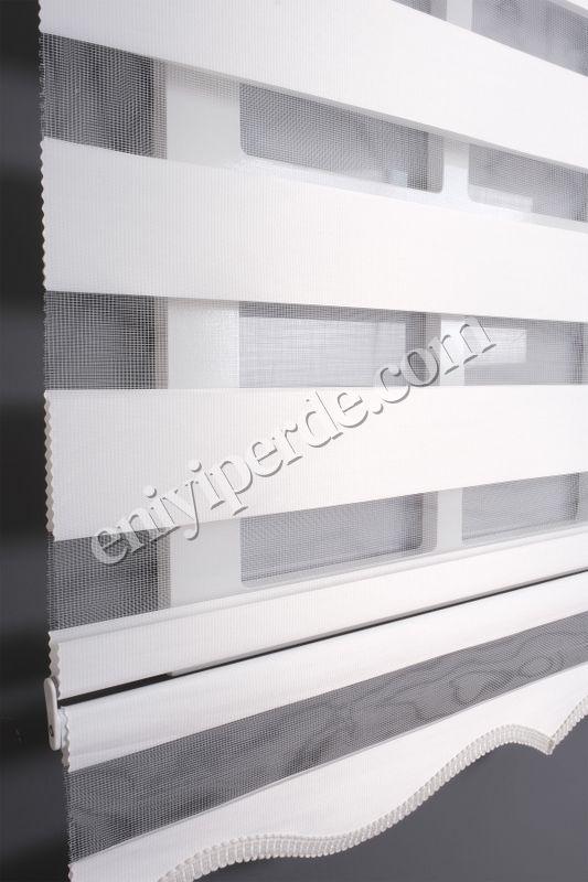 (Beyaz) Ewinas Yeni Sezon Bambu Beyaz Zebra Perde Etek Dilim Hediye bambu01 Fiyatı, Yorumları - Eniyiperde.com - 6