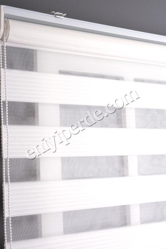 (Beyaz) Ewinas Yeni Sezon Beyaz Dar Plise Zebra Perde Etek Dilim Hediye darplise01 Fiyatı, Yorumları - Eniyiperde.com - 3