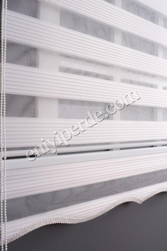 (Beyaz) Ewinas Yeni Sezon Beyaz Dar Plise Zebra Perde Etek Dilim Hediye darplise01 Fiyatı, Yorumları - Eniyiperde.com - 6