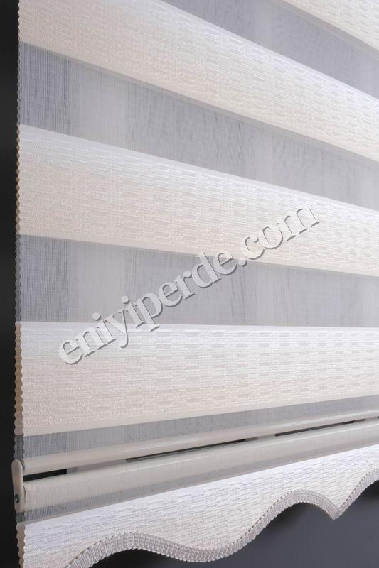 (Beyaz) Ewinas Yeni Sezon Kadife Ekru Beyaz Zebra Perde Etek Dilim Hediye kadife01 Fiyatı, Yorumları - Eniyiperde.com - 6