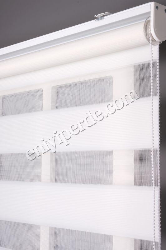 (Beyaz) Ewinas Yeni Sezon Mikro Plise Beyaz Zebra Perde Etek Dilim Hediye mikroplise01 Fiyatı, Yorumları - Eniyiperde.com - 3