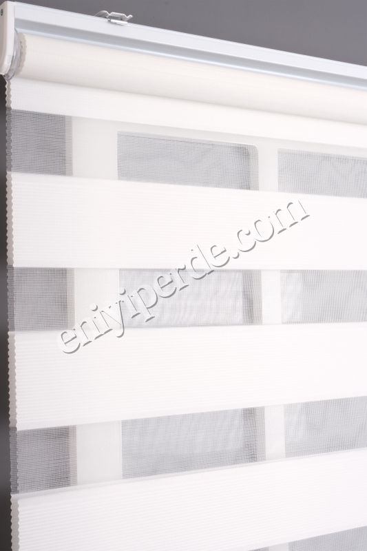 (Beyaz) Ewinas Yeni Sezon Mikro Plise Beyaz Zebra Perde Etek Dilim Hediye mikroplise01 Fiyatı, Yorumları - Eniyiperde.com - 4