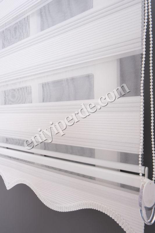 () Ewinas Yeni Sezon Plise Star Beyaz Gümüş Simli Zebra Perde Plisestar01 Fiyatı, Yorumları - Eniyiperde.com - 3