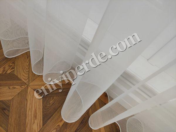 (Beyaz, Krem) Keten Tül Perde TT Zemin Fiyatı, Yorumları - Eniyiperde.com - 1