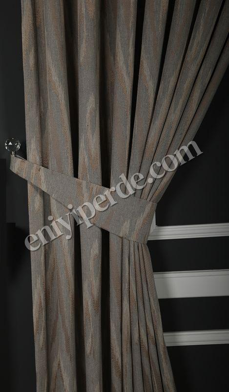 (Pudra) Alice Fon Perde Pudra Gri 8917-503 Fiyatı, Yorumları - Eniyiperde.com - 2