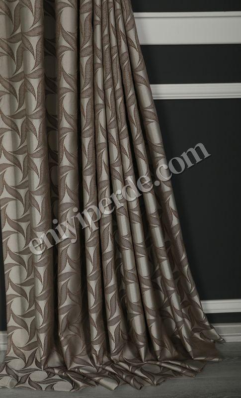(Bej, Vizon) İnci Fon Perde Vizon 9214-512 Fiyatı, Yorumları - Eniyiperde.com - 3