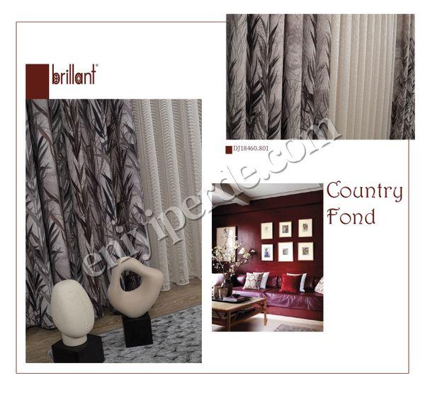 (Siyah) Country Collection 1/2,50 Pile Natural Keten Fon Perde Fiyatı, Yorumları - Eniyiperde.com - 2