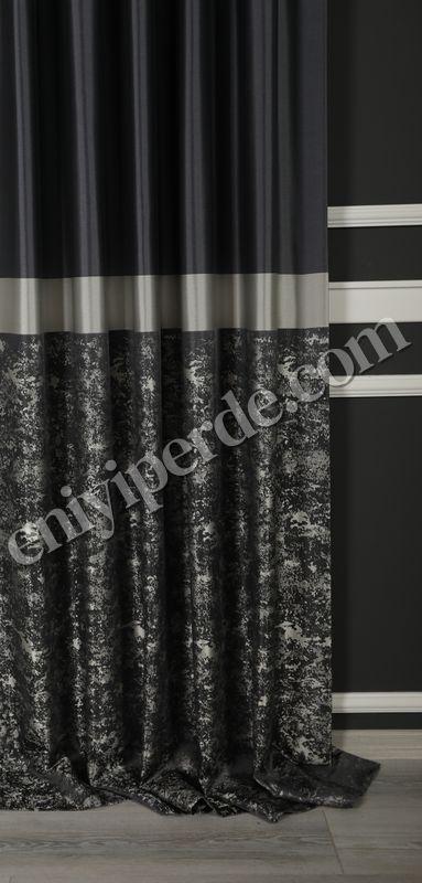 (Açık Gri) Roma Fon Perde Açık Gri 9218-561 Fiyatı, Yorumları - Eniyiperde.com - 2
