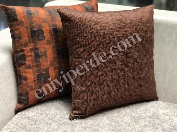 (Kahverengi, Turuncu) DEMMA 12-001 KIRLENT SETİ Fiyatı, Yorumları - Eniyiperde.com - 3