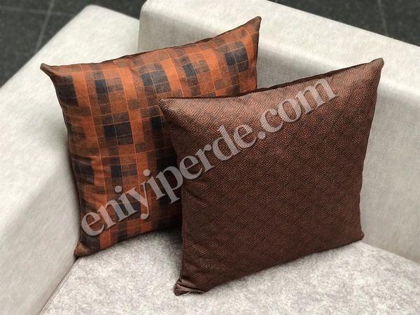(Kahverengi, Turuncu) DEMMA 12-001 KIRLENT SETİ Fiyatı, Yorumları - Eniyiperde.com - 1