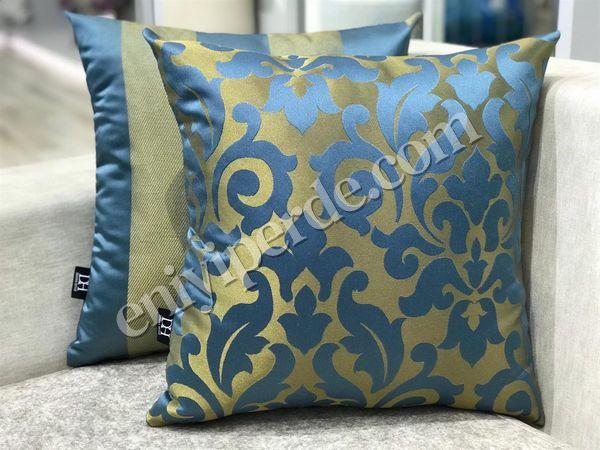 (Mavi, Sarı) VİSKOSE 12-022 KIRLENT SETİ Fiyatı, Yorumları - Eniyiperde.com - 2
