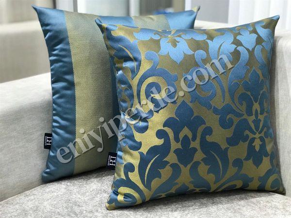 (Mavi, Sarı) VİSKOSE 12-022 KIRLENT SETİ Fiyatı, Yorumları - Eniyiperde.com - 1