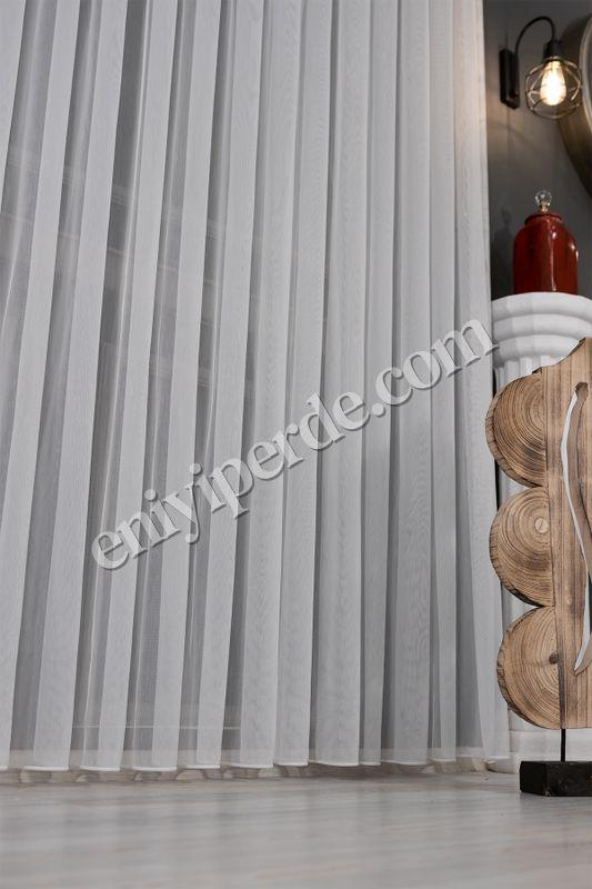 (Ekru) Natural Keten Yeni Nesil TT Zemin Tül Perde Fiyatı, Yorumları - Eniyiperde.com - 9