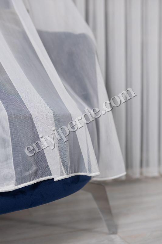 (Ekru) Natural Keten Yeni Nesil TT Zemin Tül Perde Fiyatı, Yorumları - Eniyiperde.com - 4