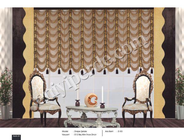 (Bal Köpüğü, Bej, Beyaz, Cappucino, Düz Renk, Hardal, Kırmızı, Lila, Mavi) Fantazi İp Perde Kruvaze Model İnce Zincir Düz Seri Fiyatı, Yorumları - Eniyiperde.com - 32