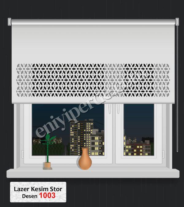 (Ekru) Lazer Kesim Stor 1003 Fiyatı, Yorumları - Eniyiperde.com - 1