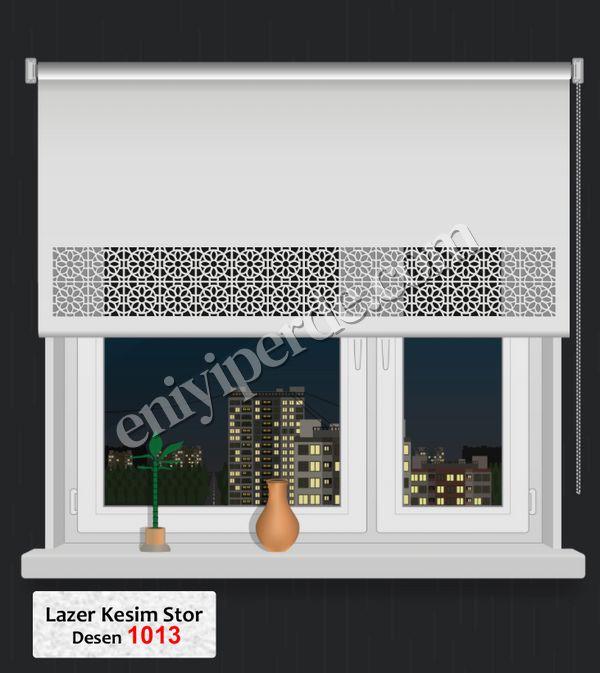 (Ekru) Lazer Kesim Stor 1013 Fiyatı, Yorumları - Eniyiperde.com - 1