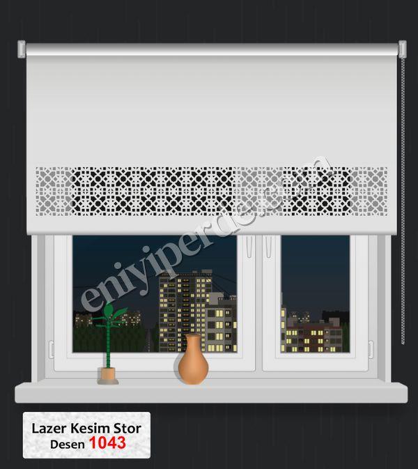 (Ekru) Lazer Kesim Stor 1043 Fiyatı, Yorumları - Eniyiperde.com - 1