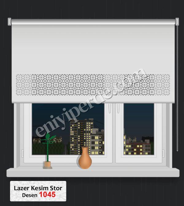 (Ekru) Lazer Kesim Stor 1045 Fiyatı, Yorumları - Eniyiperde.com - 1