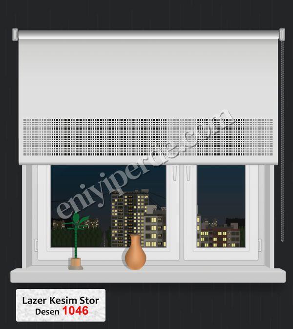 (Ekru) Lazer Kesim Stor 1046 Fiyatı, Yorumları - Eniyiperde.com - 1