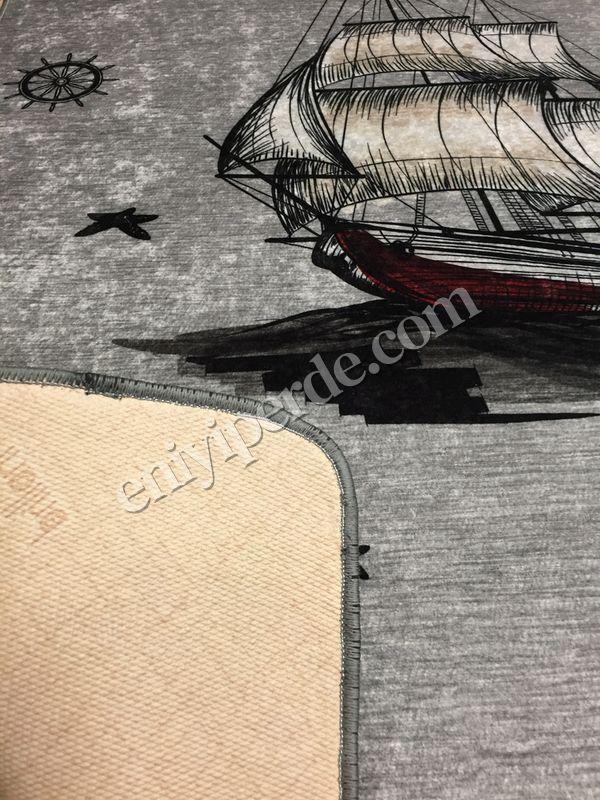 (Gri) Boat Lateks Kaymaz Taban Leke Tutmaz Çocuk Halı Fiyatı, Yorumları - Eniyiperde.com - 4
