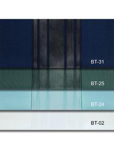 (Mavi, Yeşil) Çizigili Akıllı Dikey Tül Zebra Perde-Parlement-Çağla-Yeşili-Turkuaz-Ekru Fiyatı, Yorumları - Eniyiperde.com - 7