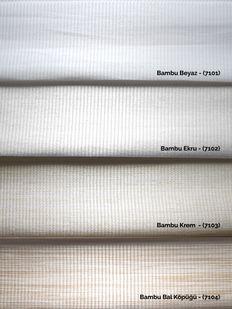 () Bambu Ekru Zebra Perde - (7102) Fiyatı, Yorumları - Eniyiperde.com - 4