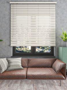 Truwood Ahşap Görünümlü PVC Jaluzi Perde - TRU105-13x28