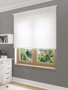 (Beyaz) Sedefli Beyaz Düz Stor Perde - 1501 Fiyatı, Yorumları - Eniyiperde.com - 2