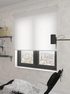 (Beyaz) Panama Beyaz Düz Stor Perde - 2810 Fiyatı, Yorumları - Eniyiperde.com - 2