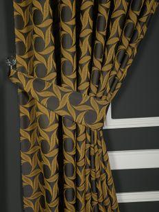 (Sarı) İnci Fon Perde Sarı 9214-567 Fiyatı, Yorumları - Eniyiperde.com - 2