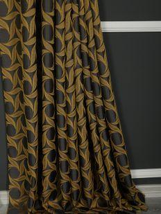 (Sarı) İnci Fon Perde Sarı 9214-567 Fiyatı, Yorumları - Eniyiperde.com - 3